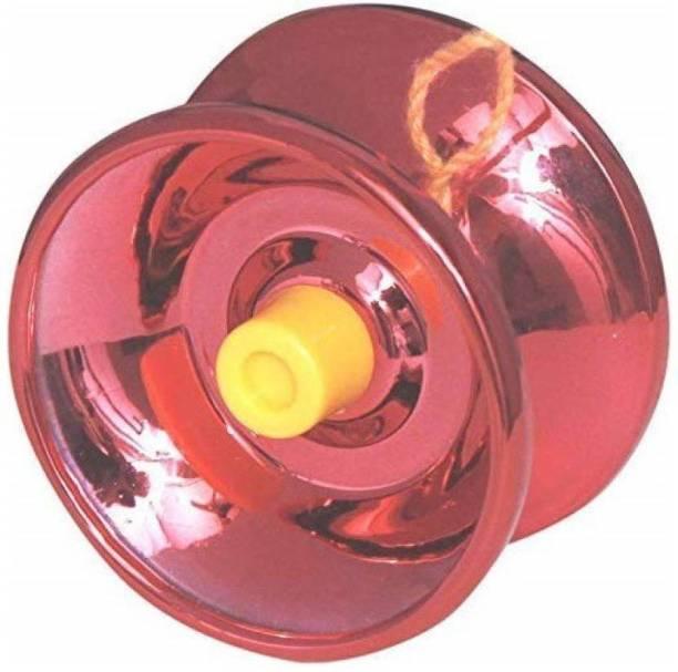 Akansha Gift &Toys Yo Yo New High Gloss (Red) Yoyo Bearing (Pack of 1) Toy Yoyo