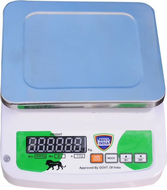 BEST INDIA 20KG F&B REAR WEIGHING SCALE Weighing Scale