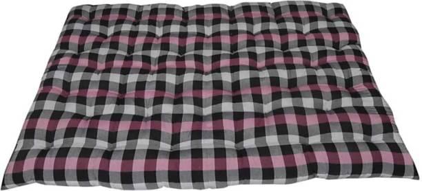 COLOFLY Cotton mattress 4x6 pink 3 inch Queen Cotton Mattress