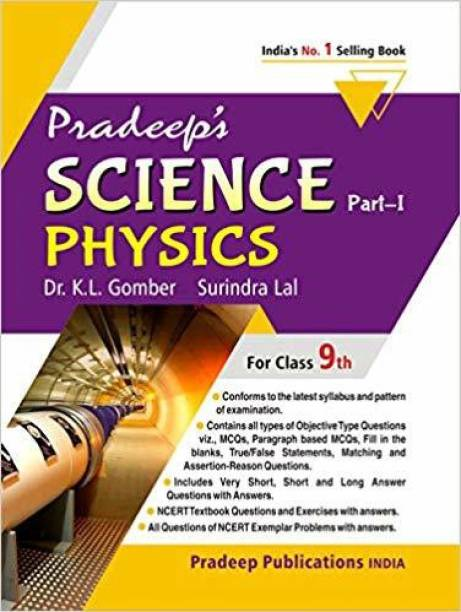 Pradeep's Science Part I (Physics) for Class 9