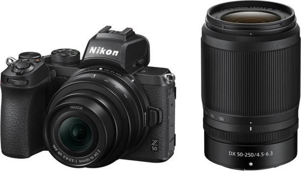NIKON Z 50 Mirrorless Camera Body with 16-50mm & 50-250mm Lenses