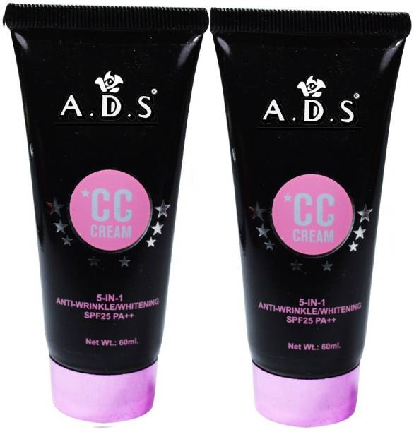 ads Natural White Skin Beauty 5in1 CC Cream-A1678-03 Pack of 2 Foundation