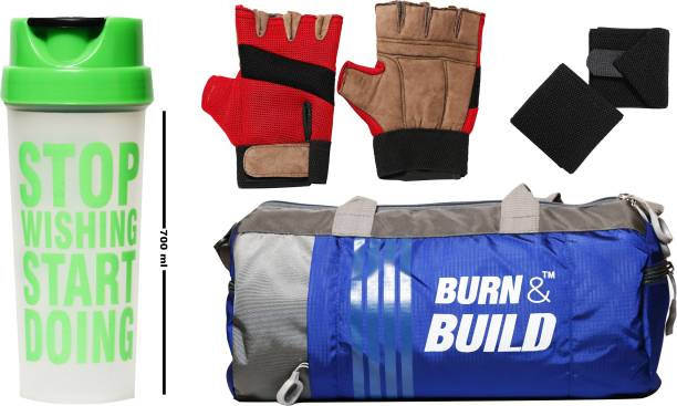 Burn And Build COMBO PACK FOR GYM Gym & Fitness Kit