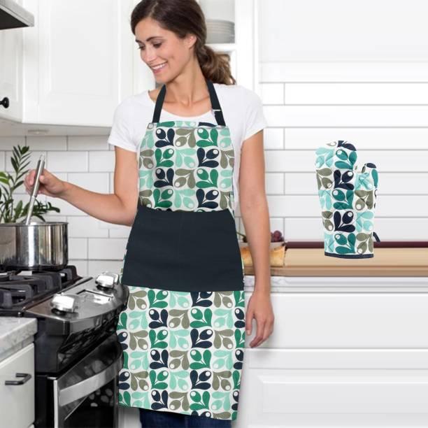 DECOTREE Multicolor Cotton Kitchen Linen Set