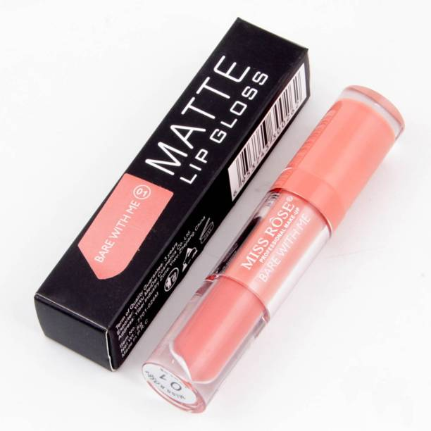 MISS ROSE Bare With Me Matte Lip Gloss [01]