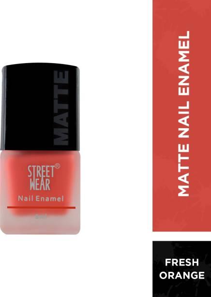 street wear Matte Nail Enamel Fresh Orange Fresh Orange