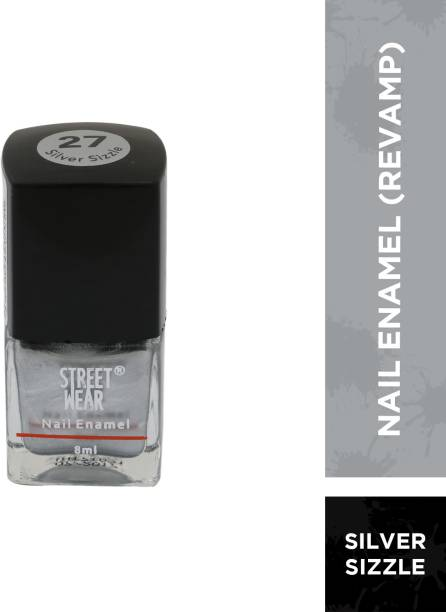 street wear Nail Enamel Silver Sizzle