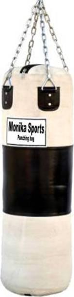 Monika Sports 3 Feet Long Heavy Canvas Punching Bag For Boxing Hanging Bag