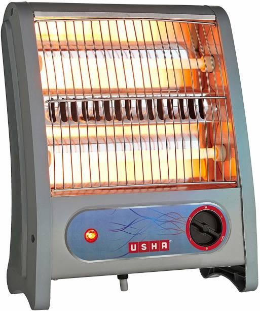 USHA Quartz Room Heater (3002) 800-Watt with Overheating Protection Halogen Room Heater