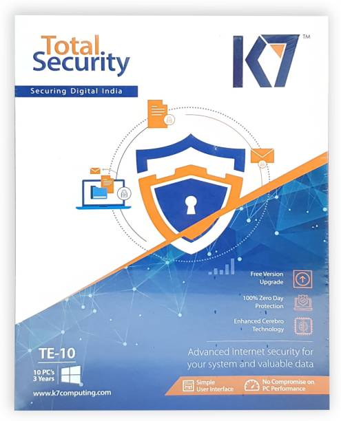 K7 Total Security 10 User 3 Years