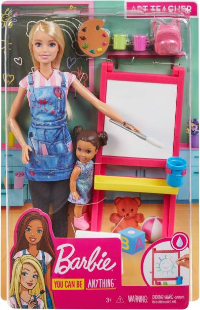 BARBIE Art Teacher Doll & Playset