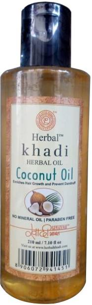 Khadi Herbal Virgin Coconut Oil, SLS free Hair Oil