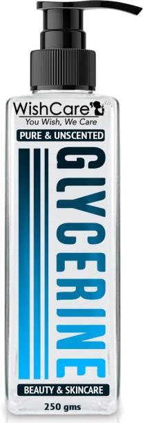 WishCare Pure & Unscented Glycerine - Pharmaceutical Grade, 100% Vegan, Hypoallergenic - Beauty & SkinCare