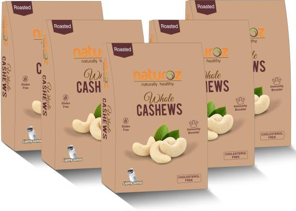 Naturoz (Pack Of 5) Roasted Lightly Salted Cashews