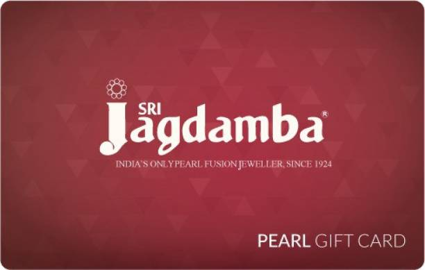 Jagdamba Pearls Physical Gift Card