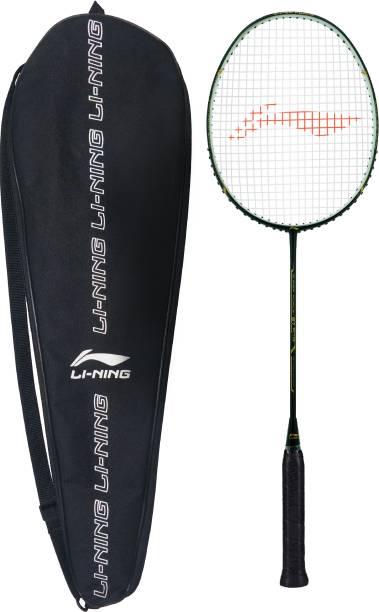 LI-NING Super Force 87 PLUS Black, Gold Strung Badminton Racquet