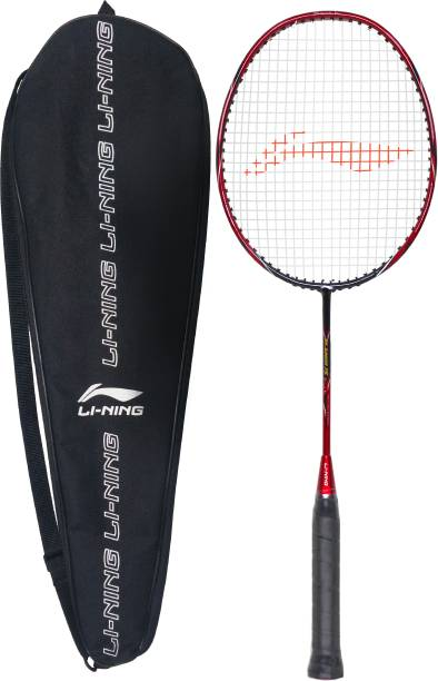 LI-NING SK Junior 75 - Srikanth Kidambi Signature Series Black, Red Strung Badminton Racquet