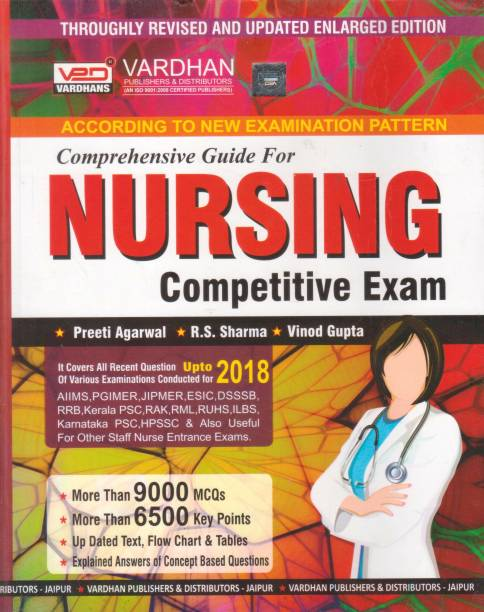 Vardhan Comprehensive Guide For Nursing Competitive Exam