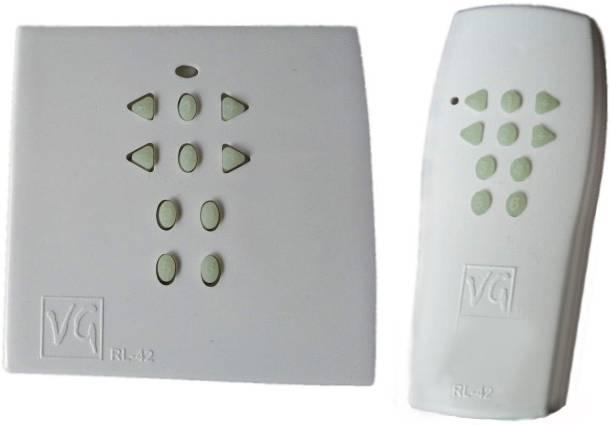 VG Soni-Tech RF Remote Electrical Switch For 4 Lights And 2 Fans/Dimmer VG RL-42 Smart Switch