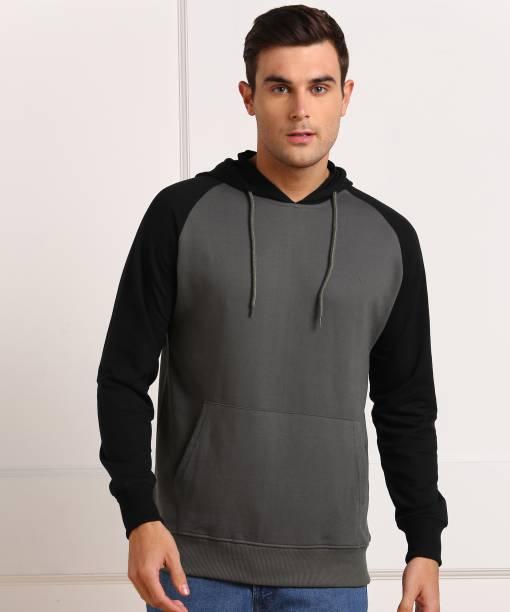 Billion Full Sleeve Color Block Men Sweatshirt
