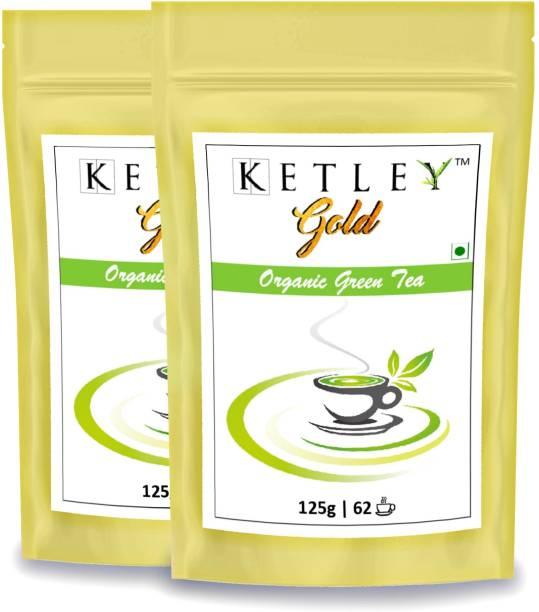 Ketley Gold 250g Organic Green Tea Pouch