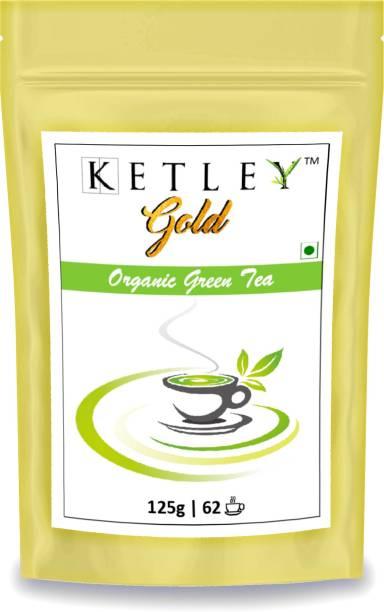 Ketley Gold 125g Organic Green Tea Pouch