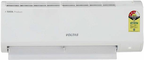 Voltas 1 Ton 3 Star Split AC  - White