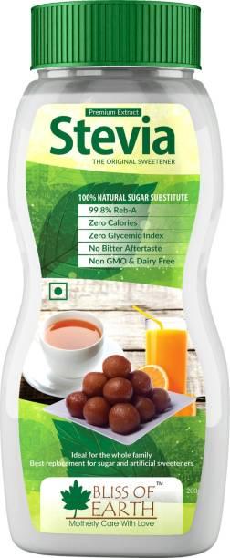 Bliss of Earth 99.8% REB-A Purity Stevia Powder, Natural & Sugarfree, Zero Calorie Sweetner, Sweetener