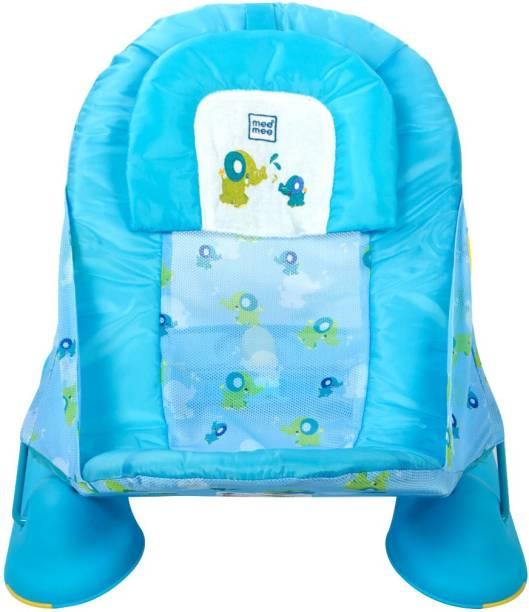 MeeMee Anti-Skid Baby Bather (Bath Seat) Blue Baby Bath Seat