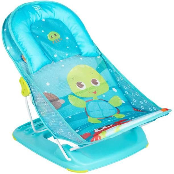 MeeMee Anti-Skid Compact Baby Bather (Green) Baby Bath Seat