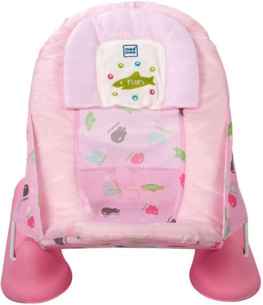 MeeMee Anti-Skid Spacious Baby Bather (Bath Seat , Pink) Baby Bath Seat