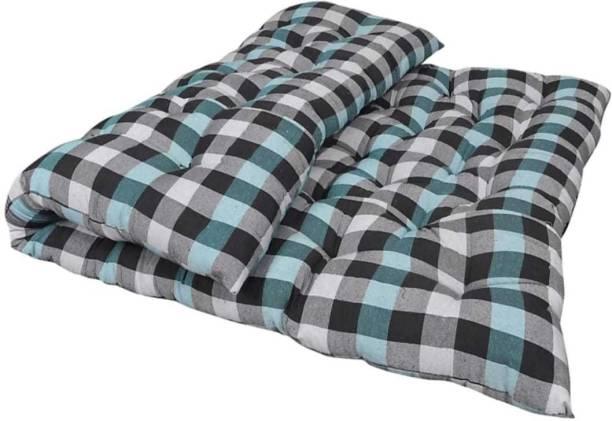 COLOFLY 3x6 cotton mattress 4 inch Single Cotton Mattress