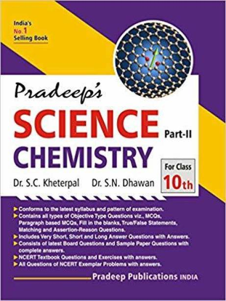 Pradeep's Science Part II (Chemistry) for Class 10