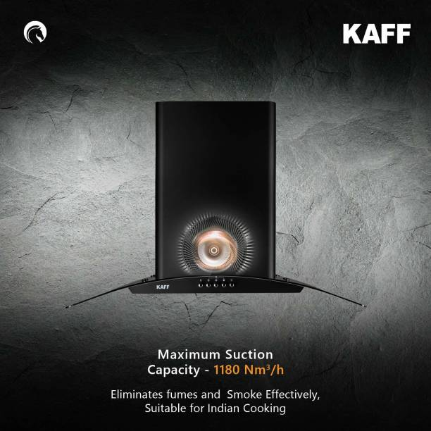 Kaff ELF BF DHC 60/ELF DHC 60 Auto Clean Wall Mounted Chimney