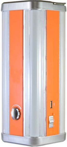 FIRSTLIKE 4 Tubes 360 Degree Extra Bright Super Quality Rechargeable Lantern Emergency Light Lantern Emergency Light