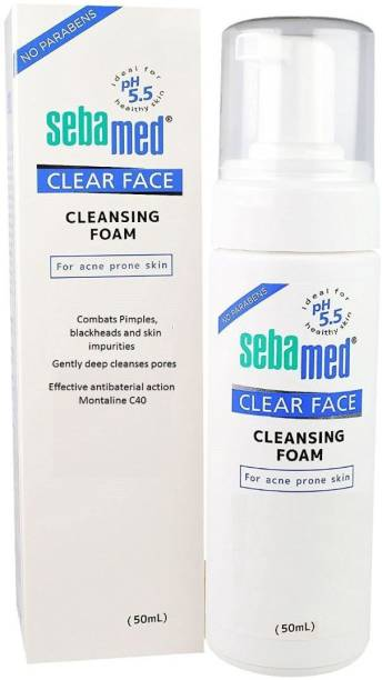 Sebamed Clear Face Foam  Pack of 1 Face Wash