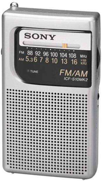 SONY Icf-S10Mk2-Portable Radio FM Radio