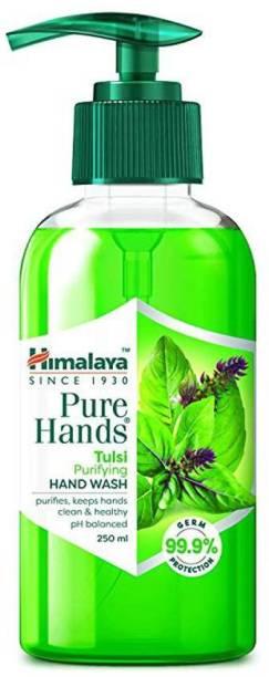 HIMALAYA Pure Hands Purifying Tulsi Hand Wash Hand Wash Pump Dispenser