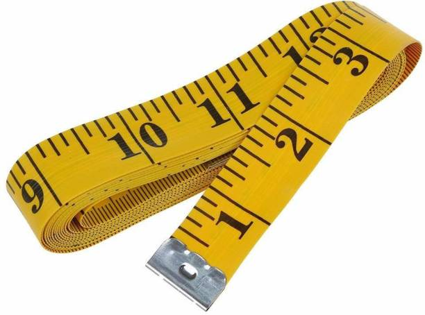 Indie Metal Crafts 1.50 Meter Good Quality Cloth Object Body Measuring Measurement Tape (1.5 m) Measurement Tape (150 cm) Measurement Tape