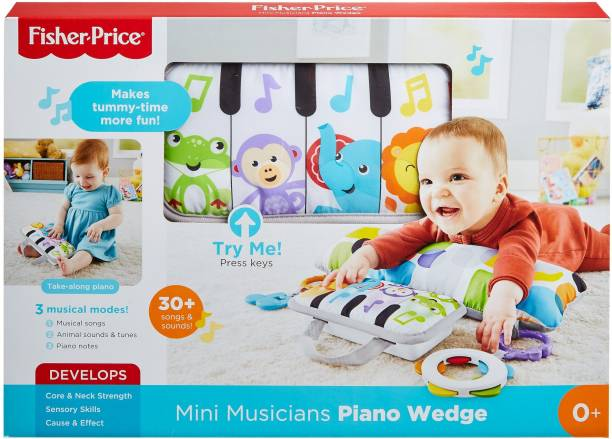 FISHER PRICE Mini Musicians Piano Wedge