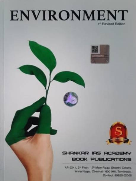 ENVIRONMENT 7th Revised Edition By Shankar IAS Academy