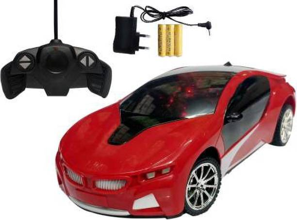 SSTOYS Remote Control Electric Chargeable Sports Car With 3D