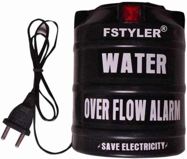FStyler Poojaa Water Tank Overflow Alarm with High Quality Voice Sound Overflow (Made in India) - Water Alarm Wired Sensor Security System