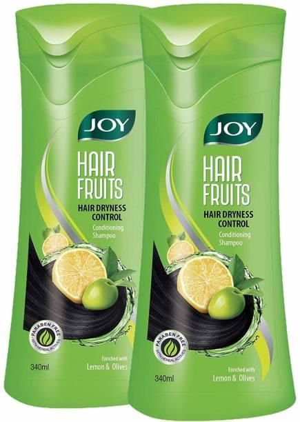 Joy Hair Fruits Hair Dryness Control Conditioning Shampoo
