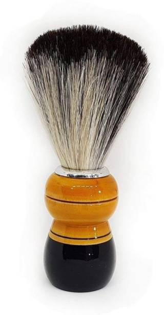 Quality BIt Wooden Handle Smooth and Soft Bristle  For Men & Boys-12 Shaving Brush