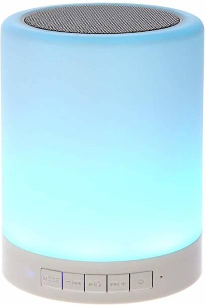 IMMUTABLE LED Touch Lamp Bluetooth Speaker, Wireless HiFi Speaker Light, USB Rechargeable Portable 20 W Bluetooth Speaker