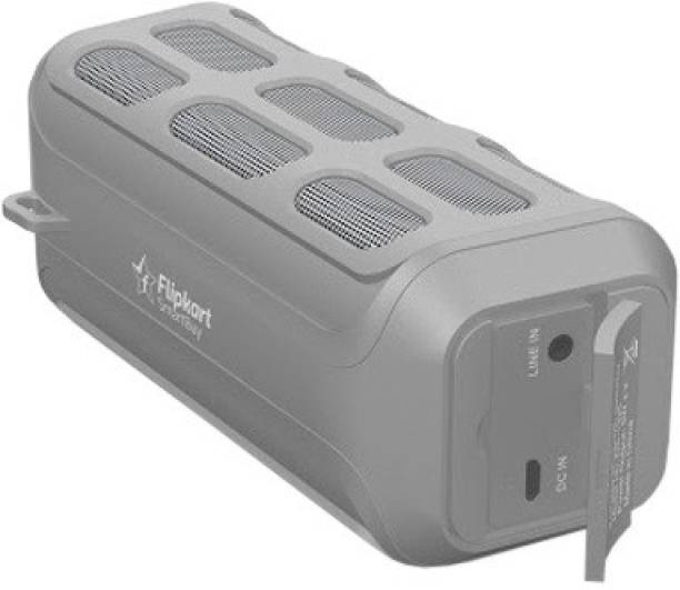 Flipkart SmartBuy BassMoverz DS 1325 10 W Portable Bluetooth Speaker Grey, Stereo Channel