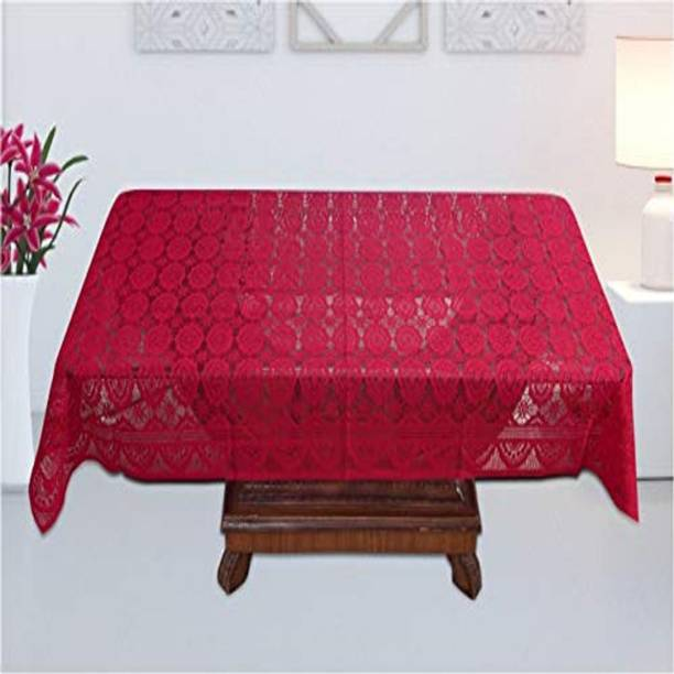 FAIRY HOME Floral 4 Seater Table Cover
