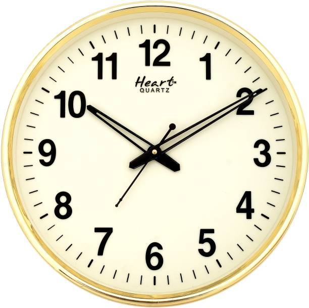Heart Quartz Analog 32 cm X 32 cm Wall Clock