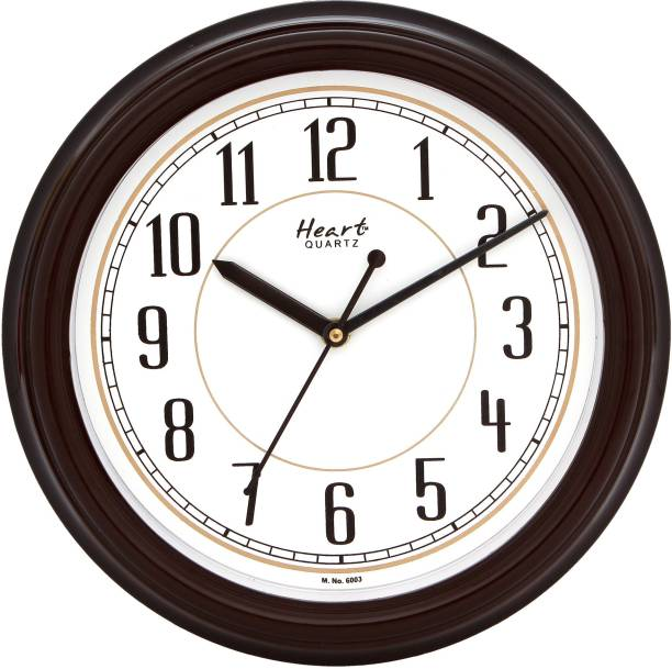 Heart Quartz Analog 26 cm X 26 cm Wall Clock